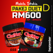 [ MOBILE STOCKIST ] - PAKEJ DUET D : SSS + SUD - Sambal Garing Che'Nor Official