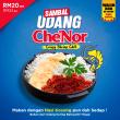 Che'Nor Sambal Udang x 1pc - Sambal Garing Che'Nor Official