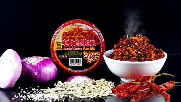 [ RESTOCK ] - Che'Nor Sambal Super Spicy - Sambal Garing Che'Nor Official