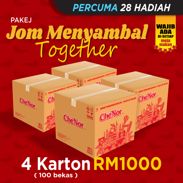[PAKEJ MOBILE STOKIS] - RM1000 - Sambal Garing Che'Nor Official