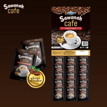 SAWANAH CAFE - PAPAN SACHET (15x25g)