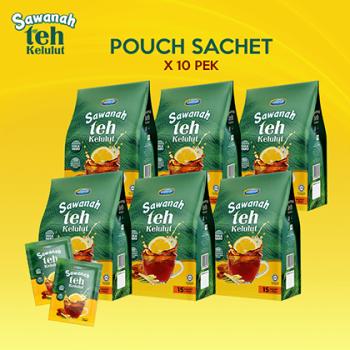 AGEN Sawanah Teh Kelulut - Pouch Sachet (10 Pek)