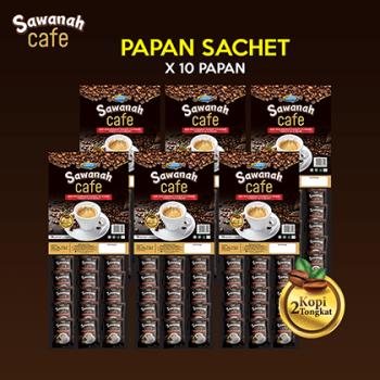 AGEN Sawanah Cafe - Papan Sachet (10 Pek)
