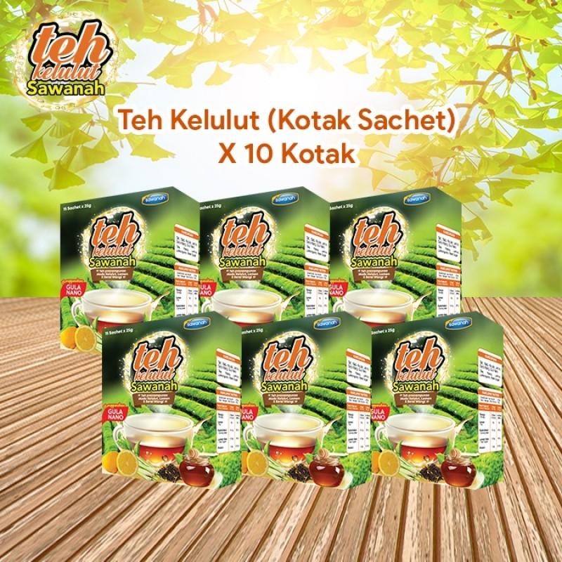 AGEN Teh Madu Kelulut - Kotak Sachet (10 Pek)