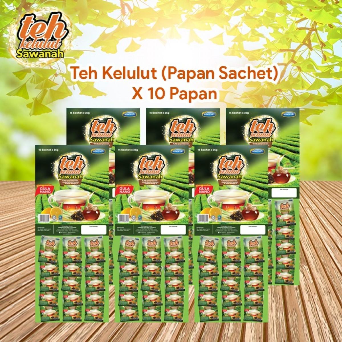 AGEN Teh Madu Kelulut - Papan Sachet (10 pek) - Sawanah HQ