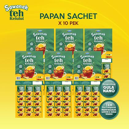 AGEN Sawanah Teh Kelulut - Papan Sachet (10 pek) - Sawanah HQ