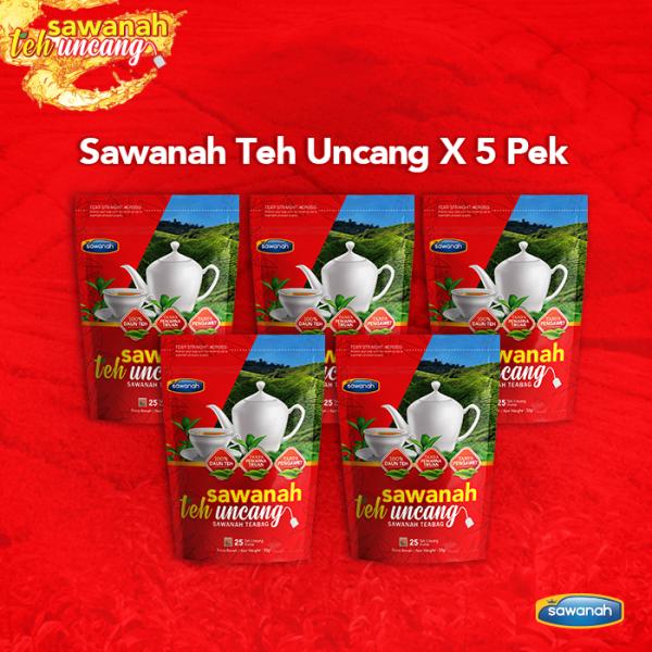 Pembeli Combo 5 Pek - Sawanah Teh Uncang  - Sawanah HQ