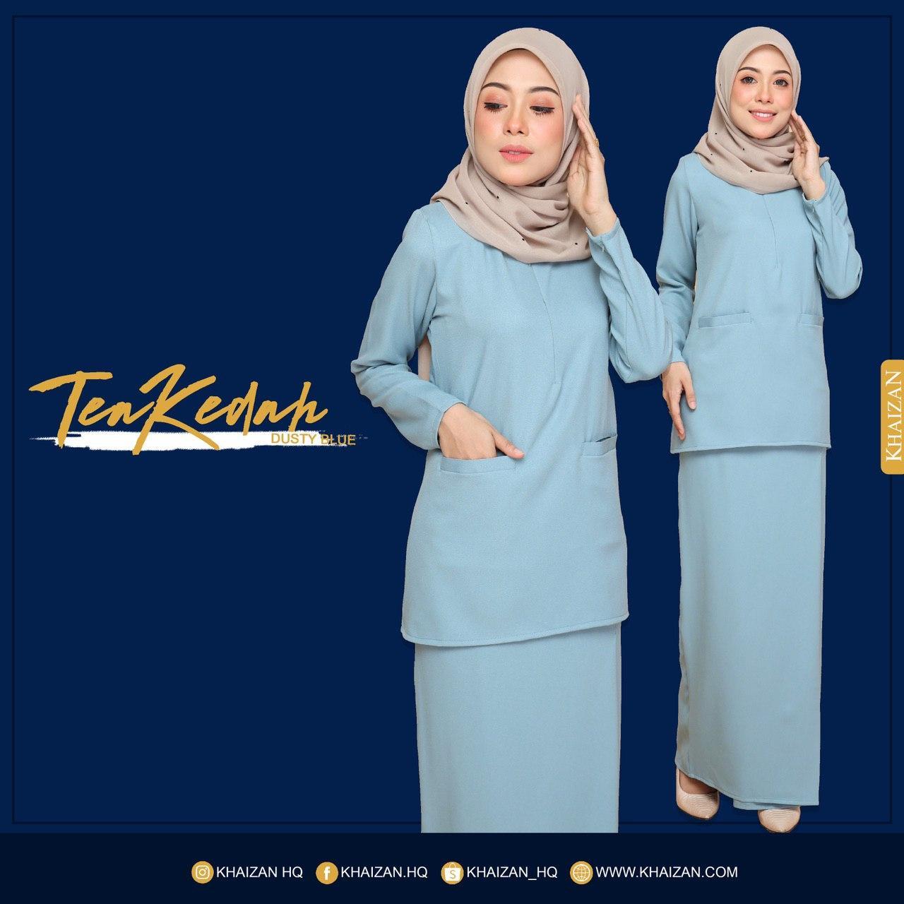 TEA KEDAH - DUSTY BLUE