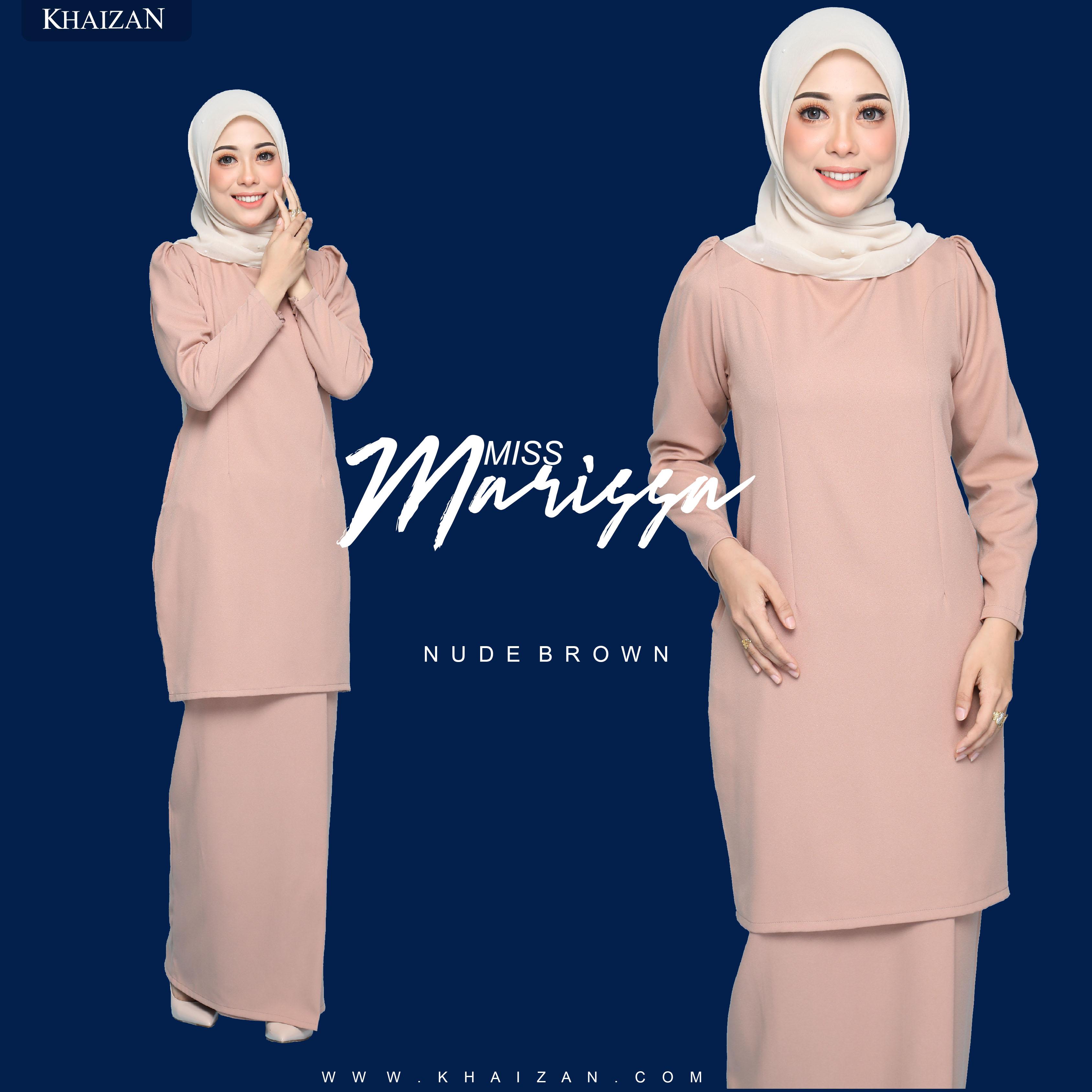 MISS MARISSA - NUDE BROWN