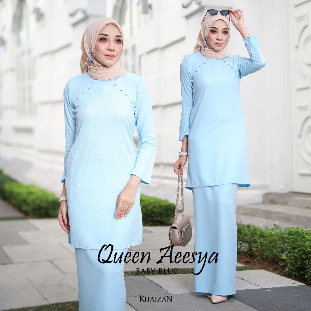 QUEEN AEESYA - BABY BLUE