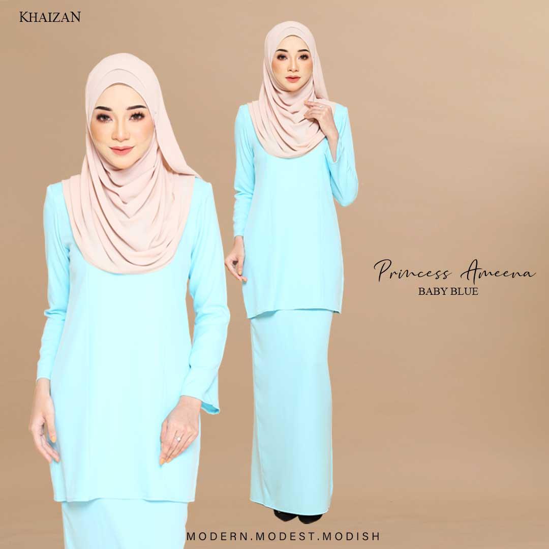 PRINCESS AMEENA - BABY BLUE