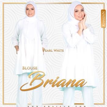 BLOUSE BRIANA - PEARL WHITE