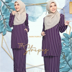 THE STRIPE - DARK PURPLE