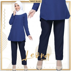 LEONA PANTS - NAVY BLUE