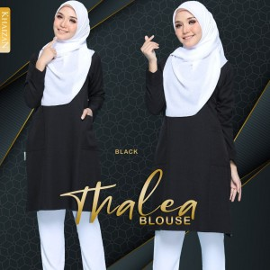 THALEA BLOUSE - BLACK