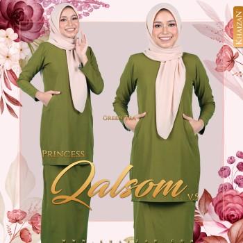 PRINCESS QALSOM V5 - GREEN TEA
