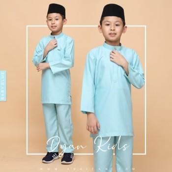 DYAN BAJU MELAYU KIDS - BABY BLUE