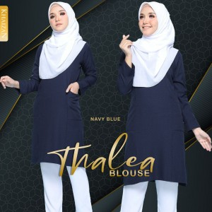 THALEA BLOUSE - NAVY BLUE
