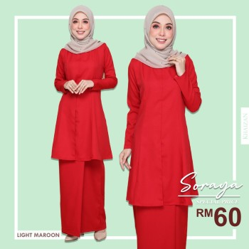 Soraya - Light Maroon