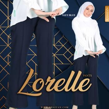 LORELLE PANTS - NAVY BLUE