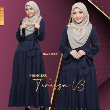 PRINCESS TERESSA - NAVY BLUE (V3) - KHAIZAN