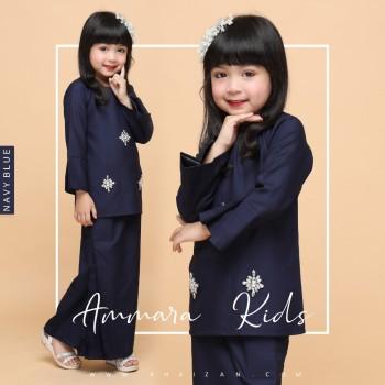 AMMARA KURUNG KIDS - NAVY BLUE