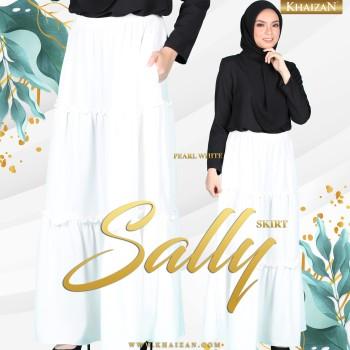 SALLY SKIRT - PEARL WHITE