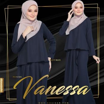 PRINCESS VANESSA - NAVY BLUE