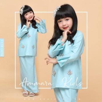 AMMARA KURUNG KIDS - BABY BLUE