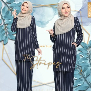 THE STRIPE - NAVY BLUE