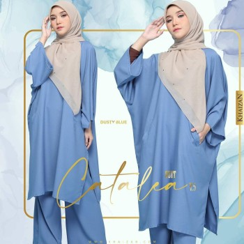 CATALEA SUIT - BABY BLUE (V4)  - KHAIZAN