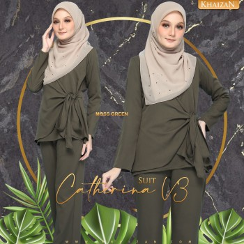 CATHERINA SUIT V3 - MOSS GREEN
