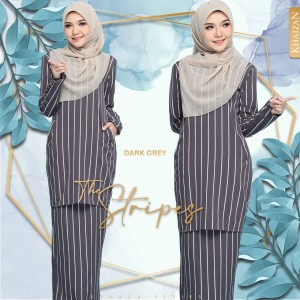 THE STRIPE BY LAUREA SERIES - DARK PURPLE - KHAIZAN
