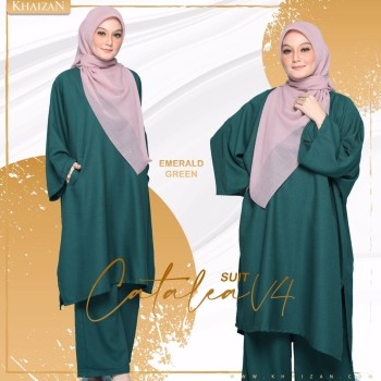 CATALEA SUIT - MOSS GREEN (V5)  - KHAIZAN