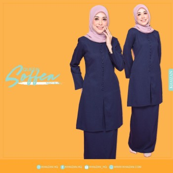 QUEEN SOFFEA - NAVY BLUE