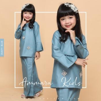 AMMARA KURUNG KIDS - DUSTY BLUE
