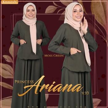 PRINCESS ARIANA V10 - MOSS GREEN