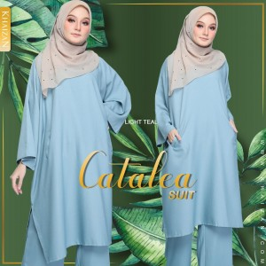 CATALEA SUIT - LIGHT GREY - KHAIZAN