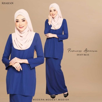 PRINCESS AMEENA - DUSTY BLUE