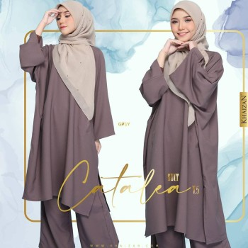 CATALEA SUIT - GREY (V4)   - KHAIZAN