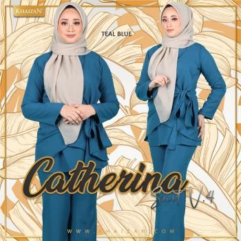CATHERINA SUIT V4 - TEAL BLUE