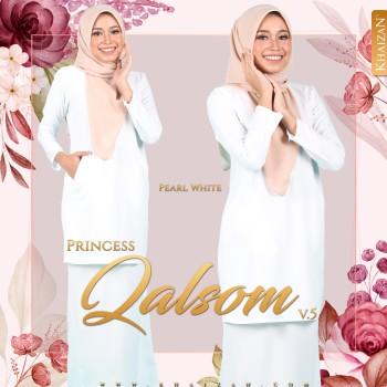 PRINCESS QALSOM V5 - PEARL WHITE