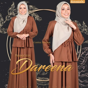 PRINCESS DAREENA - COFFEE BROWN