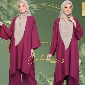 CATALEA SUIT - NAVY BLUE (V3) - KHAIZAN