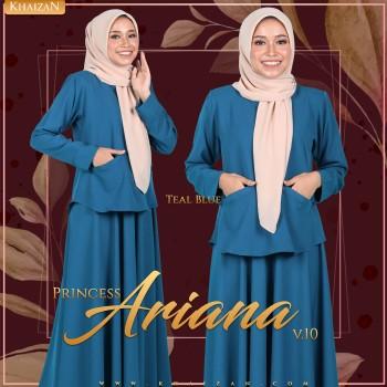 PRINCESS ARIANA V10 - TEAL BLUE