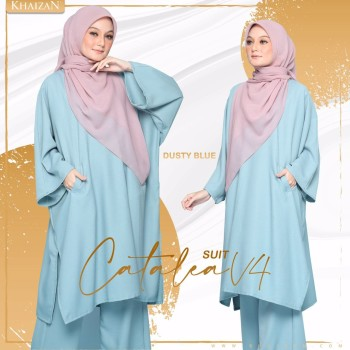 CATALEA SUIT - NAVY BLUE (V5)  - KHAIZAN