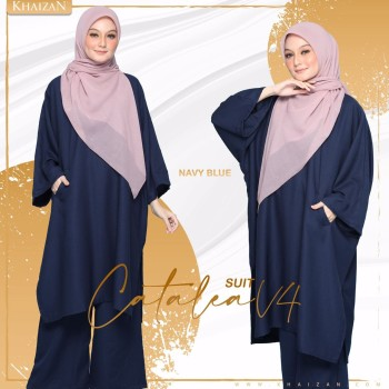 CATALEA SUIT - DUSTY BLUE (V5) - KHAIZAN