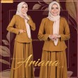 PRINCESS ARIANA V10 - COFFEE BROWN - KHAIZAN