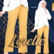 LORELLE PANTS - MUSTARD - KHAIZAN