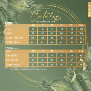CATALEA SUIT - TIFFANY BLUE (V3) - KHAIZAN